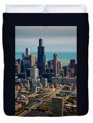 Chicago Highways 05 Duvet Cover