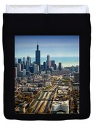 Chicago Highways 06 Duvet Cover