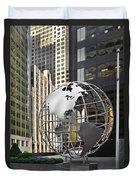 Chicago - Home Of Fine Art Duvet Cover by Christine Till
