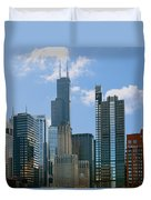 Chicago - It's Your Kind Of Town Duvet Cover