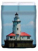 Chicago Lighthouse Duvet Cover