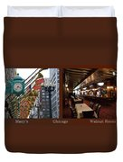 Chicago Macys Department Store 2 Panel Duvet Cover