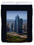 Chicago Modern Skyscraper Duvet Cover