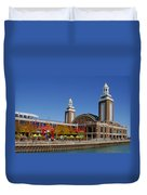 Chicago Navy Pier Headhouse Duvet Cover