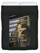 Chicago Picasso Duvet Cover
