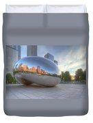 Chicago Reflection Duvet Cover