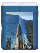 Chicago Reflections Duvet Cover