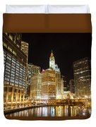 Chicago River Duvet Cover