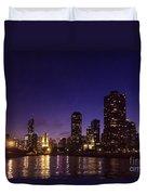 Chicago Skyline Vi Duvet Cover