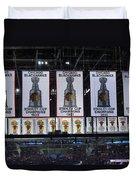 Chicago United Center Banners Duvet Cover