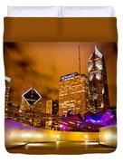 Chicago Walkway Duvet Cover
