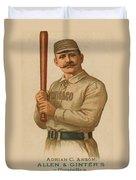 Chicago White Stockings 1887 Duvet Cover