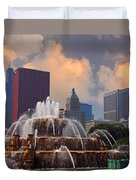 Chicago...my Kind Of Town Duvet Cover
