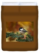 Chickadee Pictures 375 Duvet Cover