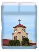 Chicken Church Duvet Cover