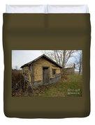 Chicken Coop Duvet Cover