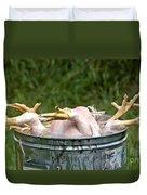 Chicken Feet Duvet Cover
