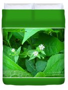 Chickweed Trio Duvet Cover