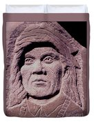Chief-cochise-2 Duvet Cover
