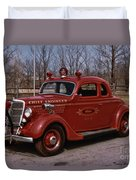 Chief Engineer Duvet Cover