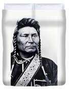Chief Joseph Nez Perce Leader Duvet Cover