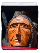 Chief Looking Duvet Cover