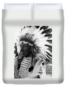 Chief Red Cloud Duvet Cover by War Is Hell Store