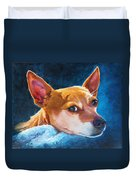 Chihuahua Baby Duvet Cover