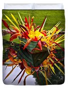 Chihuly Float Duvet Cover