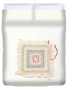 Child Embroidery Duvet Cover by Kerstin Ivarsson
