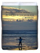 Child Of The Universe Duvet Cover