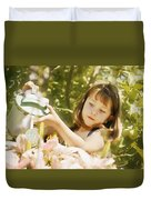 Child Waters Flowers Duvet Cover