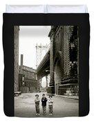A New York Childhood Duvet Cover