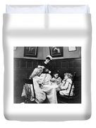 Children, 1900 Duvet Cover