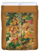 Children Dancing Around A Tree Duvet Cover