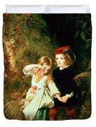 Children In The Wood Duvet Cover