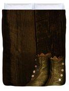 Children's Boots Duvet Cover