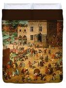 Childrens Games Duvet Cover