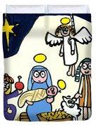 Children's School Nativity Play Duvet Cover