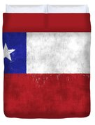 Chile Flag Duvet Cover