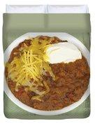 Chili Con Carne Duvet Cover