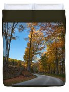 Chillin' On A Dirt Road Square Duvet Cover