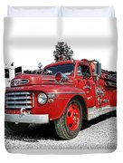 Chilliwack Fire- Mercury Firetruck Duvet Cover