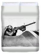Chilly Army Air Corp Plane Duvet Cover