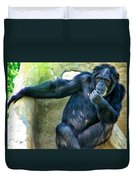 Chimp 1 Duvet Cover
