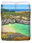China Cove Paradise Duvet Cover