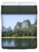 China Yangshuo County Li River  Duvet Cover