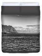 Chinaman's Hat Island From A Different Angle Duvet Cover