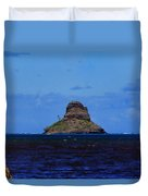 Chinaman's Hat Island-kane'ohe Bay Oahu Hawaii Duvet Cover