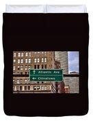 Chinatown Boston Duvet Cover